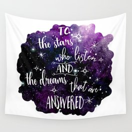 A court of mist and fury Wall Tapestry