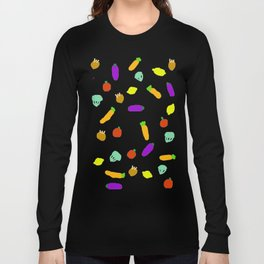Vegetables Long Sleeve T-shirt
