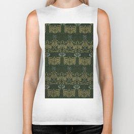 "William Morris ""Tulip and rose"" 1. Biker Tank"