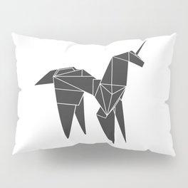 Blade R. Unicorn, Origami Artwork for Wall Art, Prints, Posters, Tshirts, Women, Men, Kids Pillow Sham