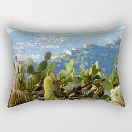 Forever Eze Village Garden Rectangular Pillow
