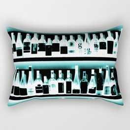 Wine Bottles - version 2 #decor #buyart #society6 Rectangular Pillow