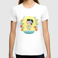 marine T-shirts featuring Marine by Lola Draloug