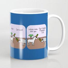 Masked Pineapple Horse (Horned Warrior Friends) Coffee Mug