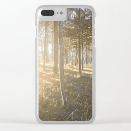 Falling, Rising, Shining Through Clear iPhone Case