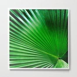 Green Angles Metal Print