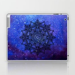 Anatomandala II x Watercolor Nebula Laptop & iPad Skin