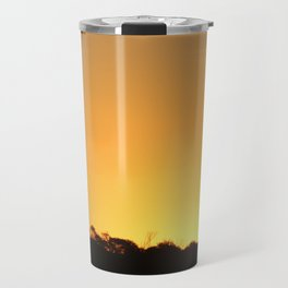 Golden Hour on the Nullarbor Travel Mug