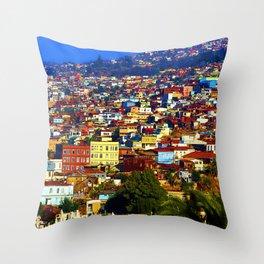 My Valparaiso Throw Pillow
