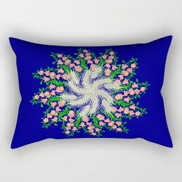 Mandala #103, Wheat, Symbol of Life Rectangular Pillow
