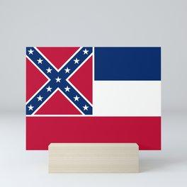 Mississippi State Flag Mini Art Print