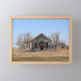 Old Schoolhouse of Ripon, WI Framed Mini Art Print