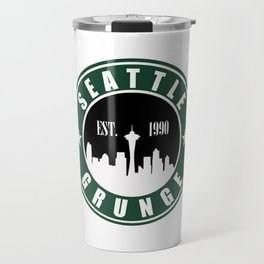 Seattle Grunge Travel Mug