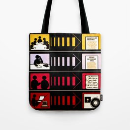 The Written Word Endures. Be Sure to Create It . . . And Preserve It. Tote Bag