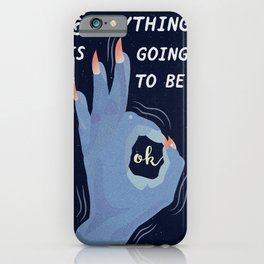A Navy Promise iPhone Case