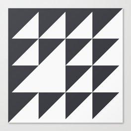 Black & White Geometry Canvas Print
