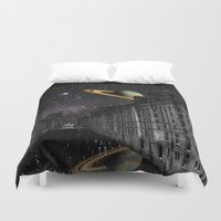 saturn Duvet Covers featuring Saturn by Cs025