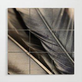 Dark Wing #3 Wood Wall Art