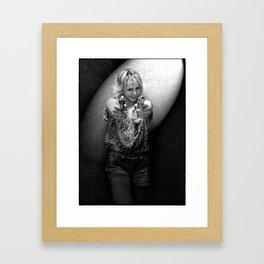Lady Kill Framed Art Print