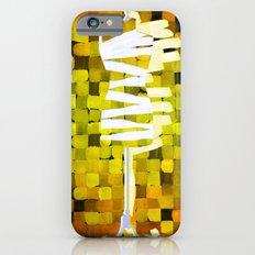 Dummy Run #1, yellow iPhone 6s Slim Case