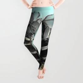 Black Rose Leggings