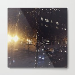Starry Nights in the City Metal Print