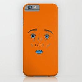 Orange Mask iPhone Case