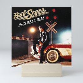 BOB SEGER ULTIMATE HITS TOUR DATES 2019 CUMI CUMI Mini Art Print