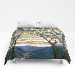 Louis Comfort Tiffany - Decorative stained glass 5. Comforters