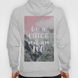 Be a voice not an eco Hoody