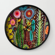 jardinage Wall Clock