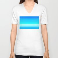 lv V-neck T-shirts featuring Re-Created Spectrum LV by Robert S. Lee by Robert S. Lee Art