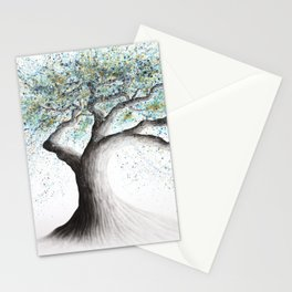 Lucent Lake Tree  Stationery Cards