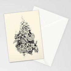 skullwars Stationery Cards