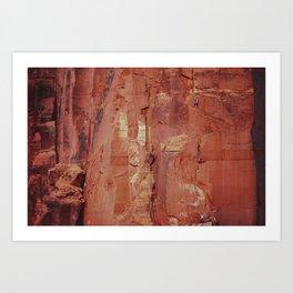 Desert Climber by Boone Speed Art Print