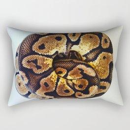 Ball of Python Rectangular Pillow