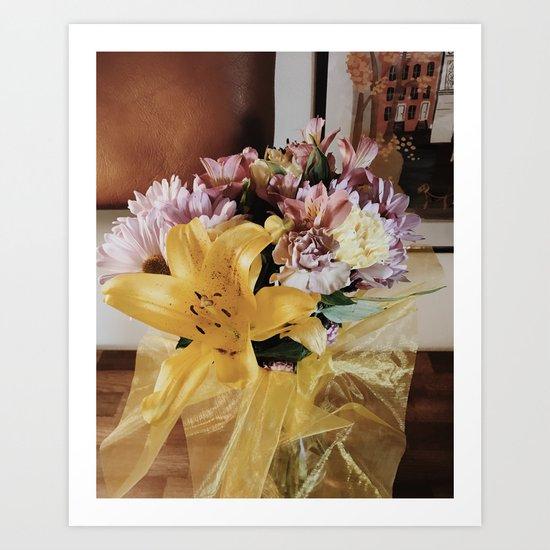Flower Gleam And Glow Art Print