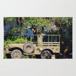 Military Jeep Rug