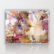 Colorful interior filled with foliage Laptop & iPad Skin