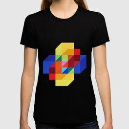 hypercube prism  T-shirt