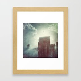 And We All Float On  Framed Art Print
