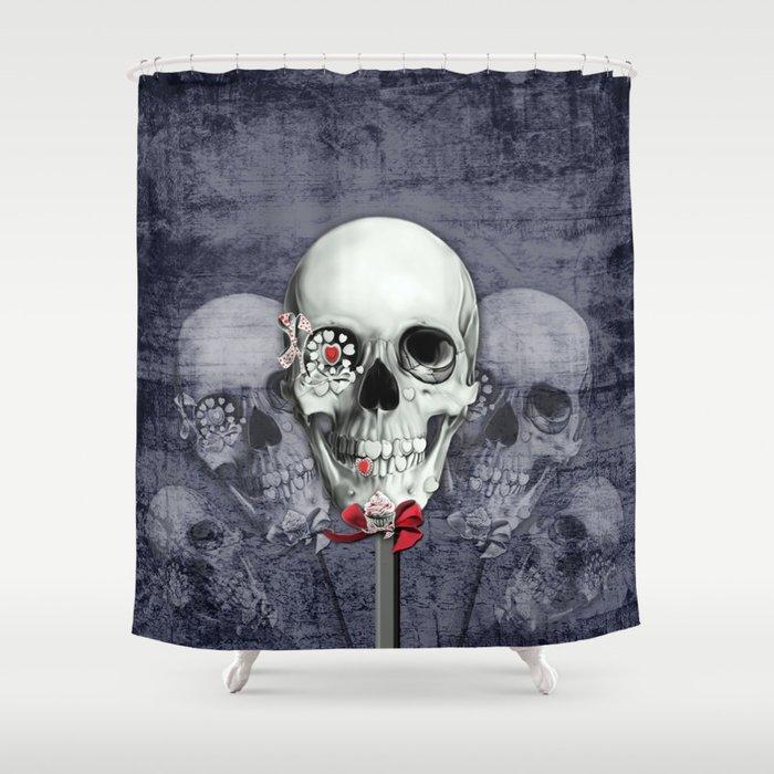 Sweet Americana Shower Curtain