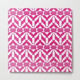 Radish Pink Pop Metal Print