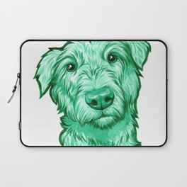 Green Wolfhound Laptop Sleeve