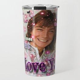 WE Love U - David Cassidy Travel Mug