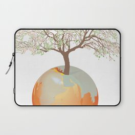 Earth - Apple tree Laptop Sleeve