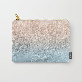 Blush Glitter Dream #2 #shiny #decor #art #society6 Carry-All Pouch