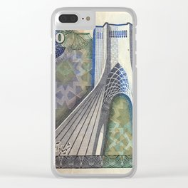 200 Rials Freedom Clear iPhone Case