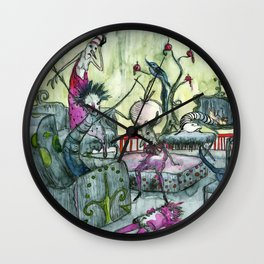 Cuchitril Wall Clock