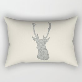 Deer. Rectangular Pillow